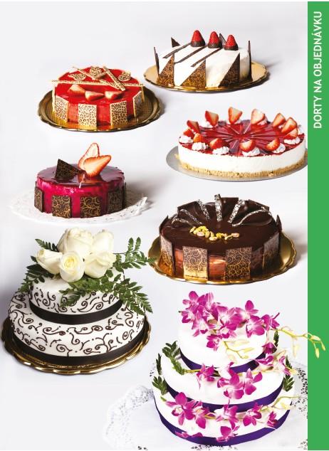 Fotografie dorty na objednávku, cukrárna Aida Brno